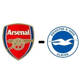 Arsenal - Brighton & Hove Albion Package