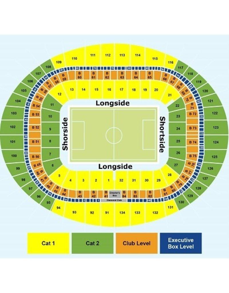 Arsenal - Crystal Palace Arrangement 18 oktober 2021