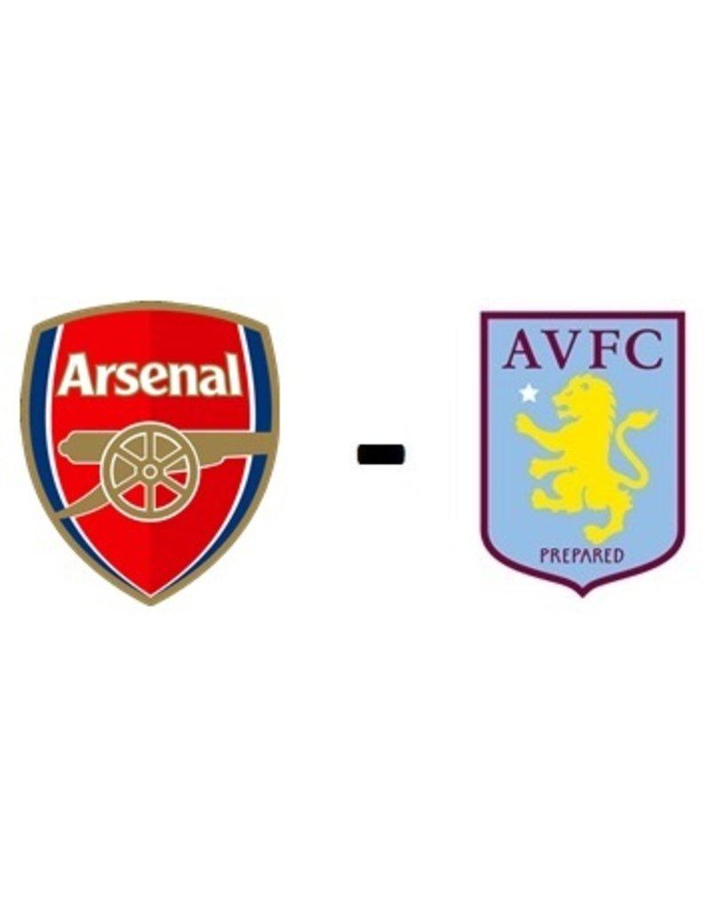 Arsenal - Aston Villa Arrangement 22 oktober 2021