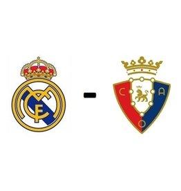 Real Madrid - Osasuna Arrangement
