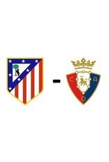 Atletico Madrid - Osasuna Arrangement 21 november 2021