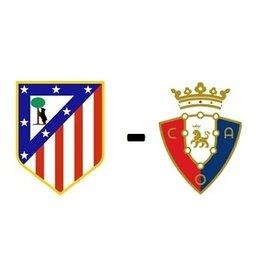 Atletico Madrid - Osasuna Arrangement