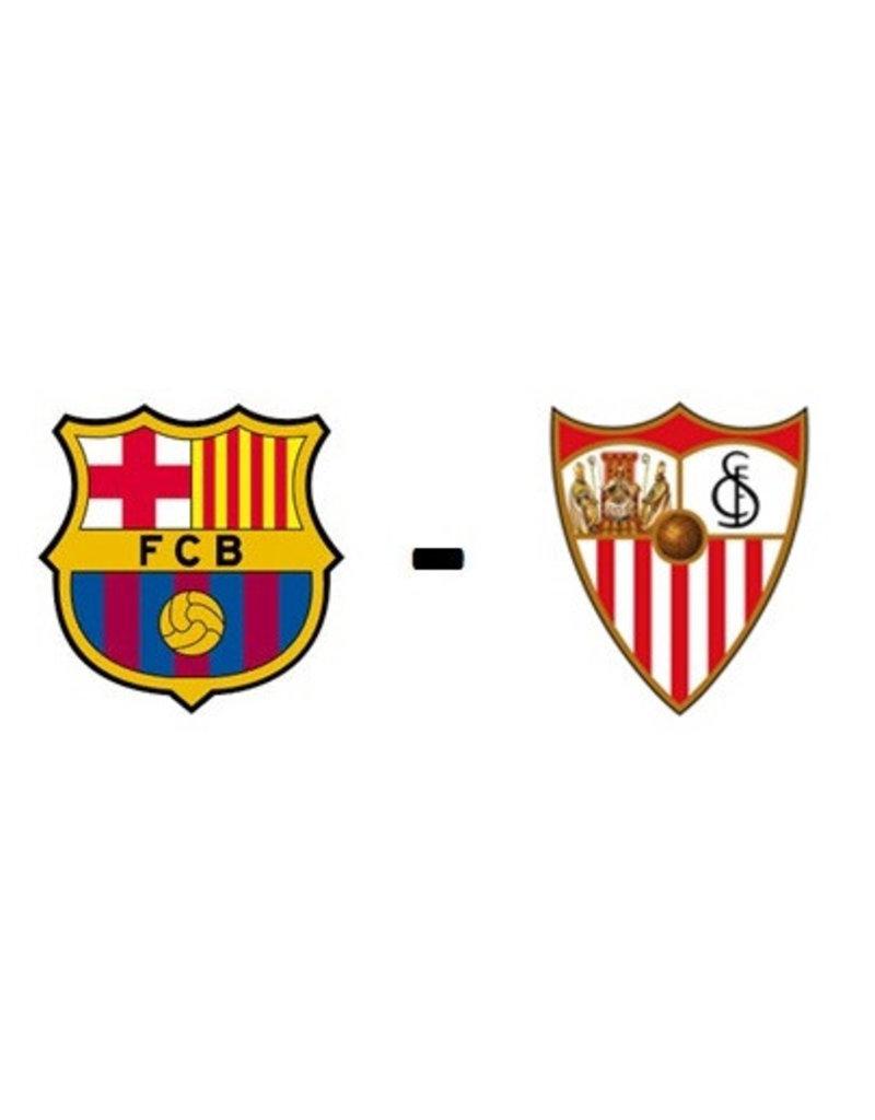 FC Barcelona - Sevilla Arrangement 3 april 2022