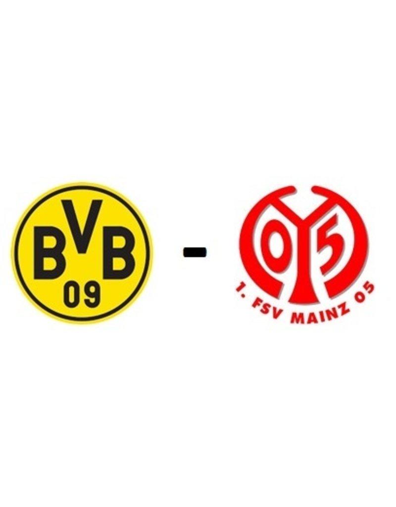 Borussia Dortmund - 1. FSV Mainz Arrangement 16 oktober 2021