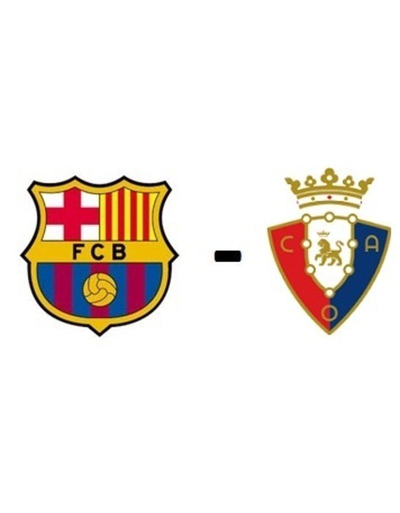 FC Barcelona - Osasuna Arrangement 13 maart 2022