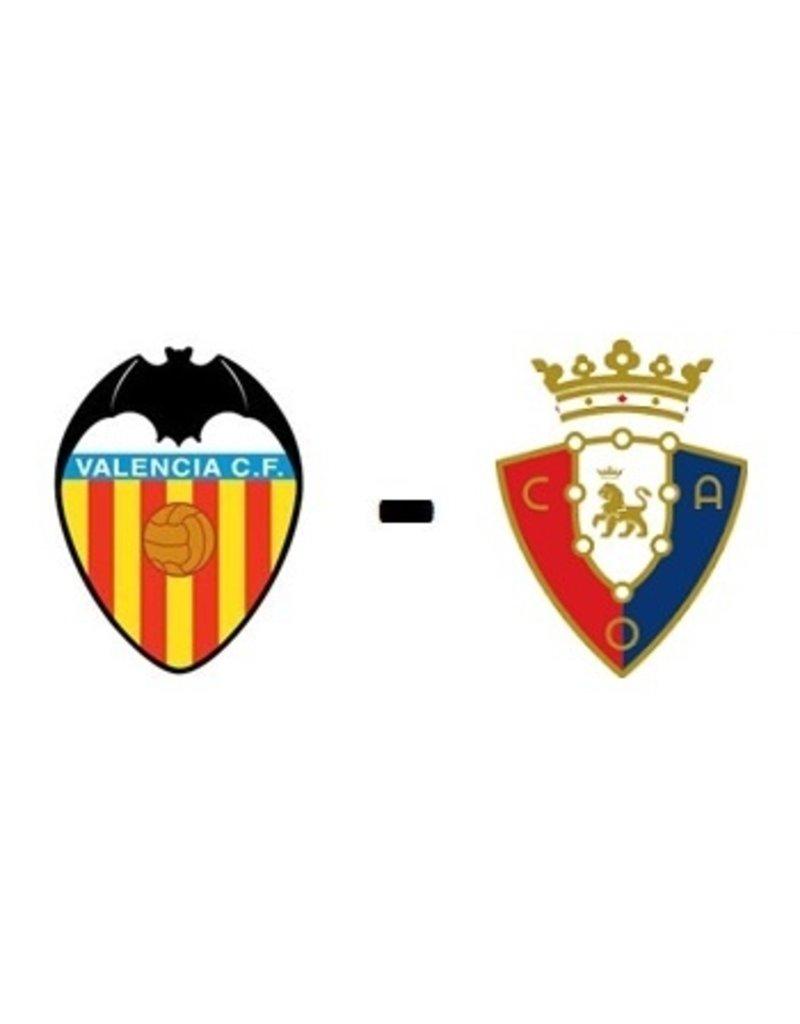 Valencia - Osasuna Arrangement 17 april 2022