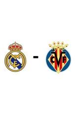 Real Madrid - Villarreal Arrangement 25 september 2021