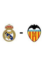 Real Madrid - Valencia Arrangement 9 januari 2022