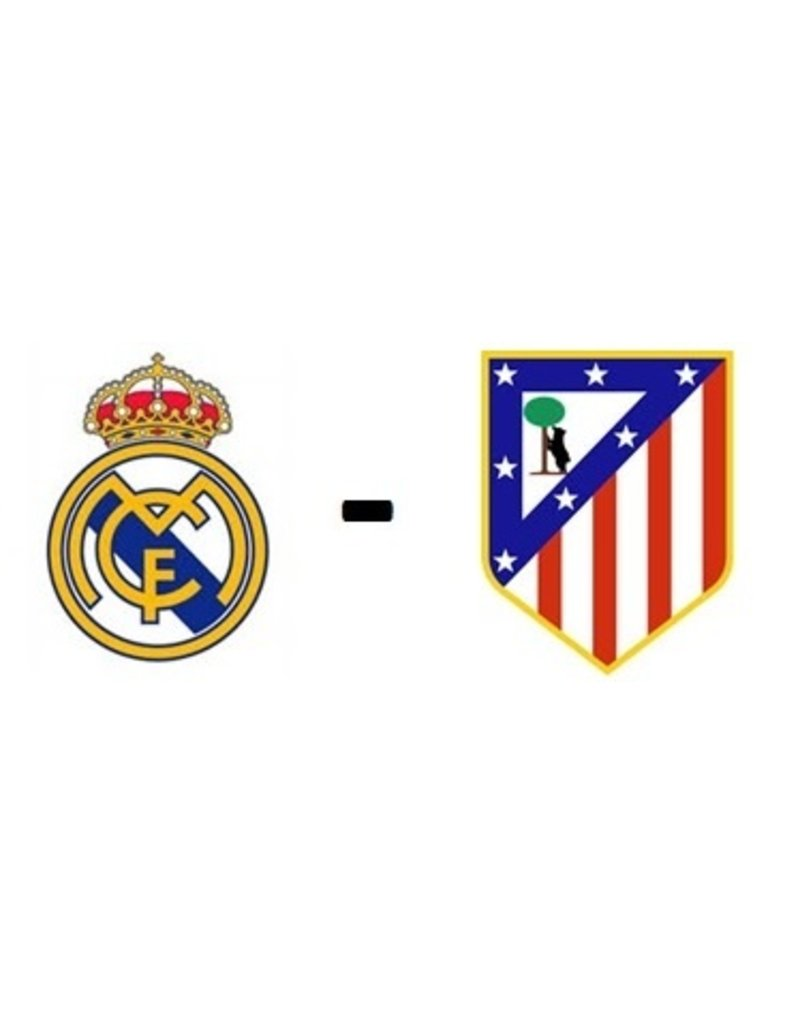 Real Madrid - Atletico Madrid Arrangement 12 december 2021
