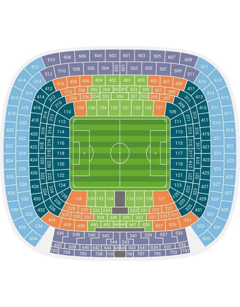 Real Madrid - Sevilla Arrangement 28 november 2021