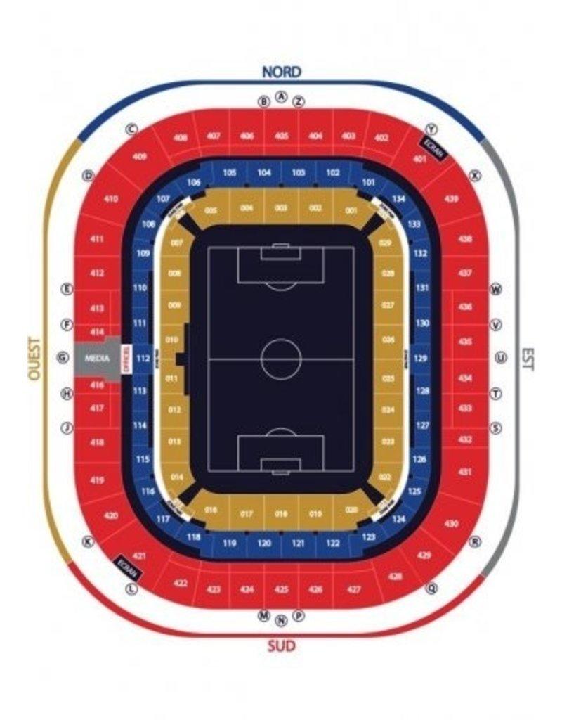Olympique Lyon - AS Monaco 17 oktober 2021