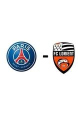 PSG - FC Lorient 3 april 2022