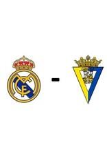 Real Madrid - Cadiz CF 19 december 2021