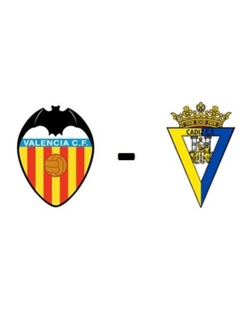 Valencia - Cadiz CF Arrangement 3 april 2022