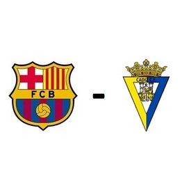 FC Barcelona - Cadiz CF Arrangement