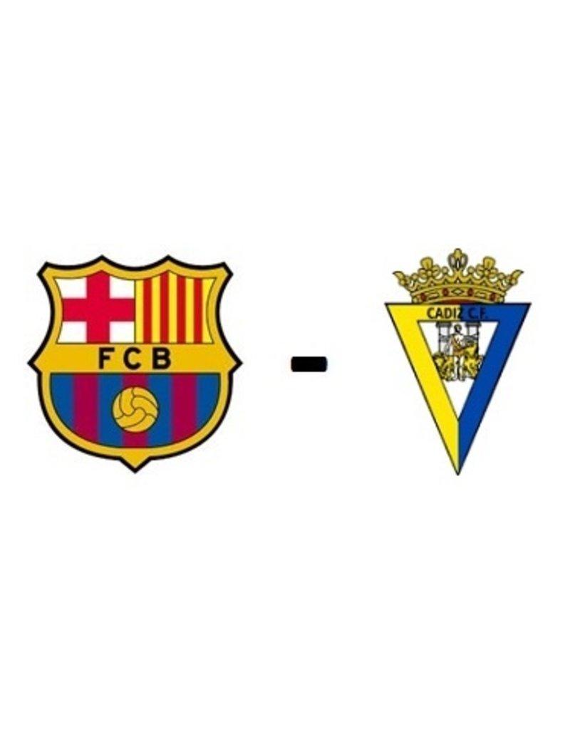 FC Barcelona - Cadiz CF Arrangement 17 april 2022