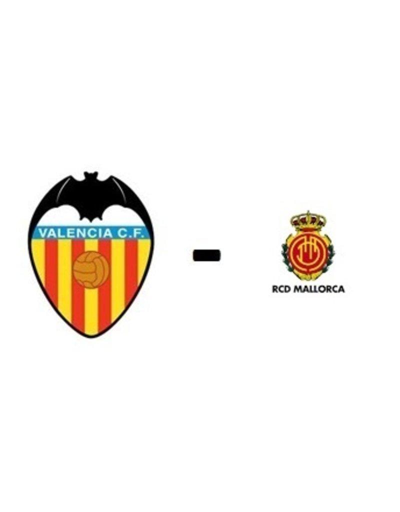 Valencia - Real Mallorca 24 oktober 2021