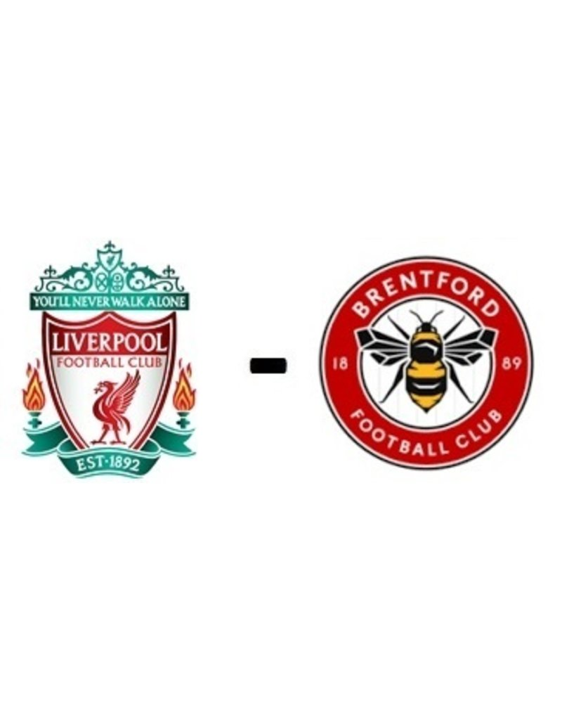 Liverpool - Brentford City 15. Januar 2022