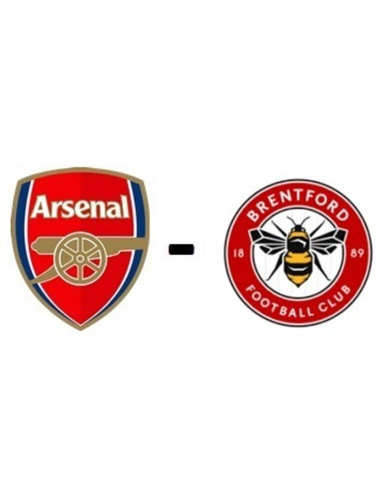 Arsenal - Brentford FC 19 februari 2022