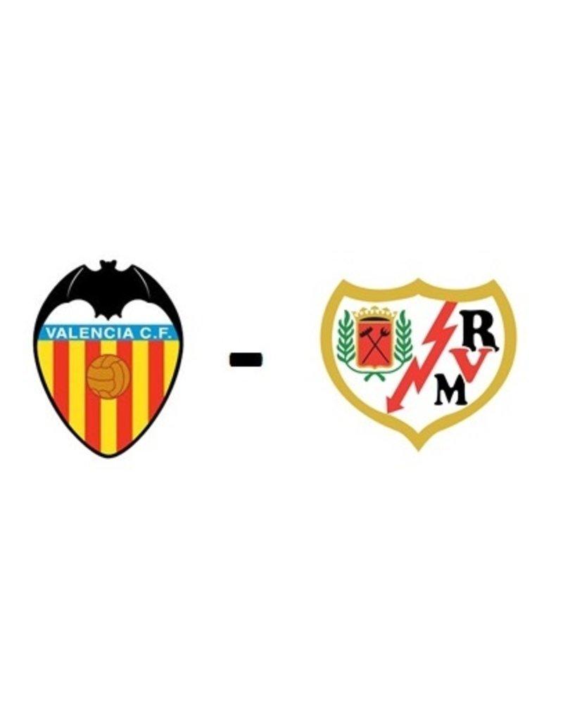Valencia - Rayo Vallecano 28 november 2021