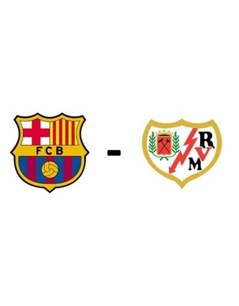 FC Barcelona - Rayo Vallecano 19 januari 2022