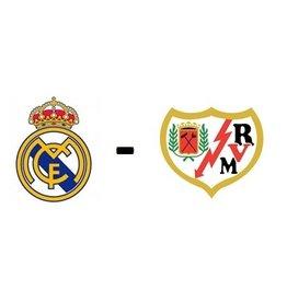 Real Madrid - Rayo Vallecano Arrangement