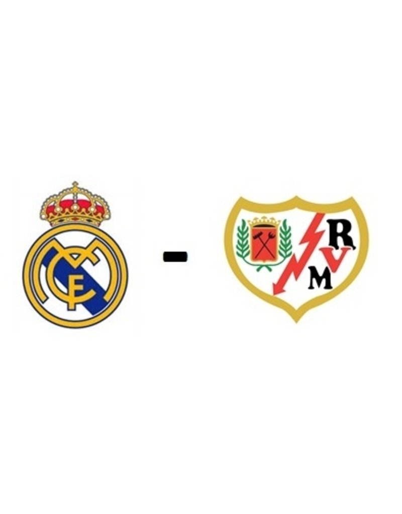 Real Madrid - Rayo Vallecano 7 november 2021