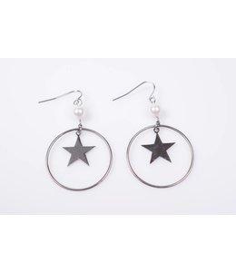 Earrings pearl ster