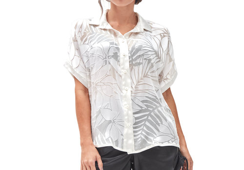 MA RE-ams Devore Sheer Shirt