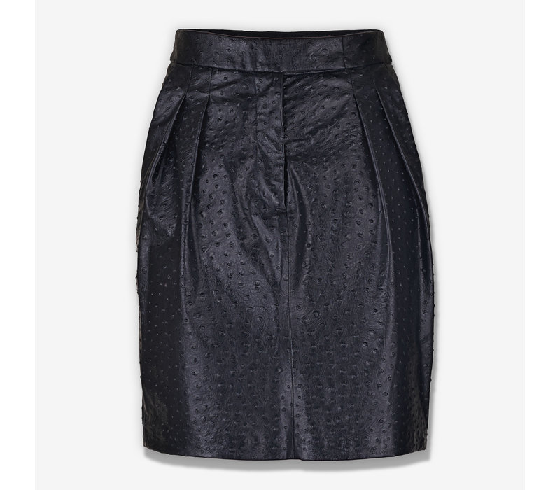 Skirt- ostrich print