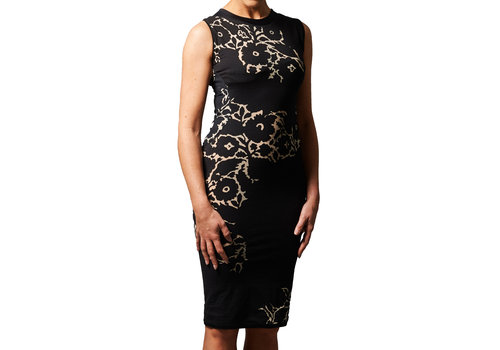 MA RE-ams Flower dress - sleeveless