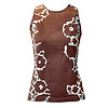 MA RE-ams Flower top- brown