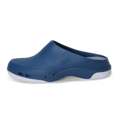 Yacan Slide - medische werkschoen open - heren - donkerblauw - 39 tm 48