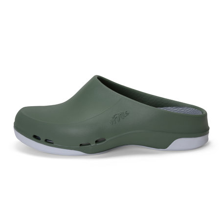 Yacan Slide - medical clog - men - green - 39 to 48