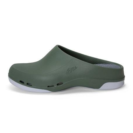 Yacan Slide - medische werkschoen open - heren -groen - 39 tm 48