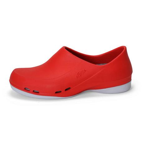 Yoan - medische werkschoen dames - rood - 35 tm 43