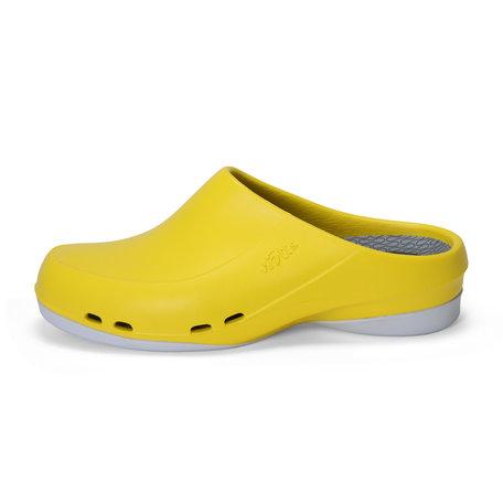 Yoan Slide - medische werkschoen open - dames - geel - 35 tm 43