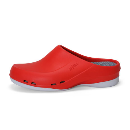 Yoan Slide - medische werkschoen open - dames - rood - 35 tm 43