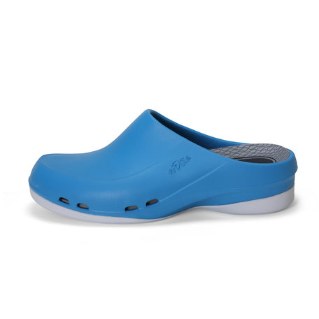 Yoan Slide - medical clogs - women - azure blue - 35 to 43