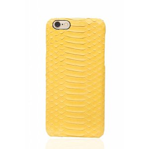 CWL iPhone 6 Plus / 6s Plus Cadmium Yellow Real Snake Leather