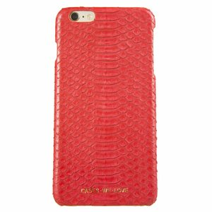 CWL iPhone 7/8 Red Lips Real Snake Skin