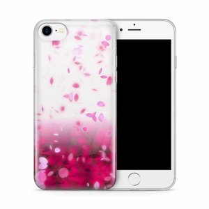 CWL iPhone 7/8 Pink Rain Cherry Blossom