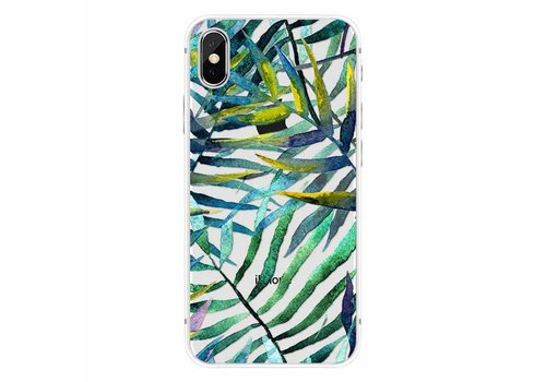CWL iPhone X Aloha Summer Green Leaves