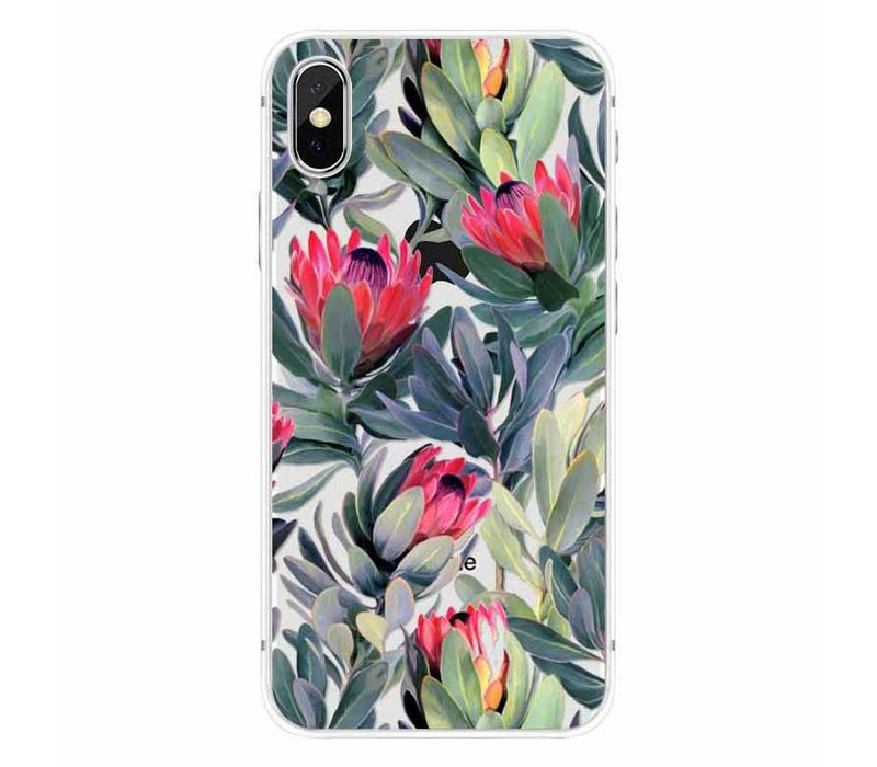 iPhone X Floral Boho
