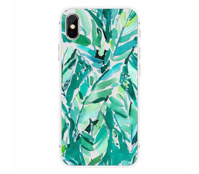 iPhone X Green Jungle