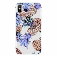 iPhone X Pastel Party Pineapple