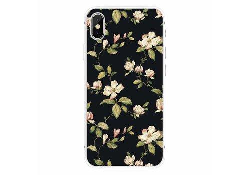 CWL iPhone X Floral Black