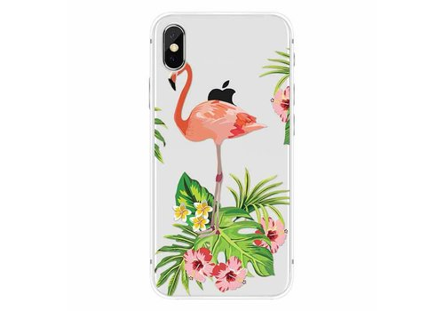 CWL iPhone X Flamingo Garden