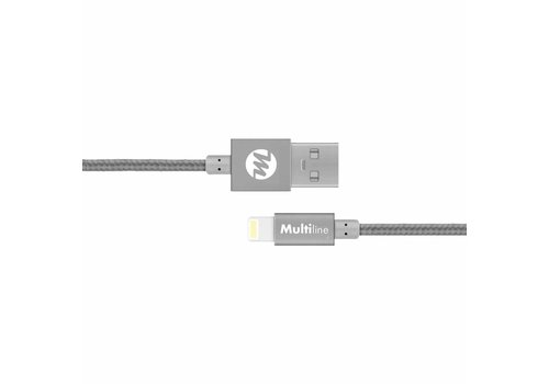 Multiline Lux Lightning cable Spacy Gray