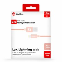 Lux Lightning cable Rose Gold